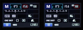DSLR Manual Mode Menu