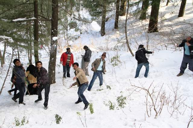 Trip To Murree 06 December 2014