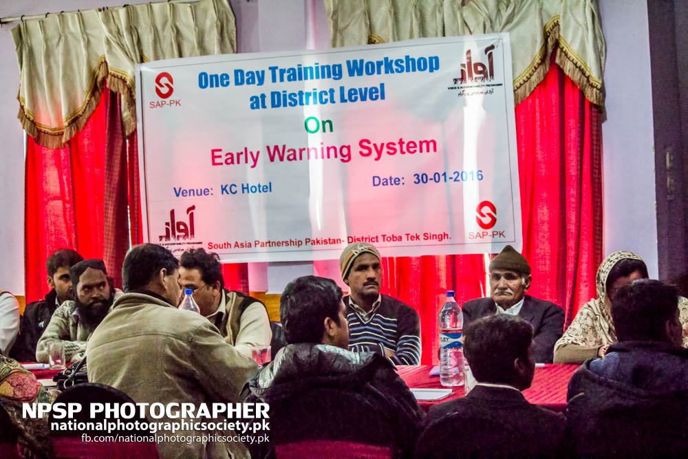 Early Warning System Workshop By Awaz In Toba Tek Singh-11
