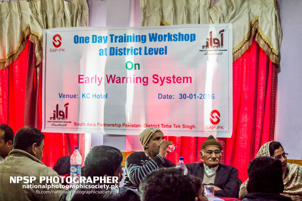 Early Warning System Workshop By Awaz In Toba Tek Singh-23