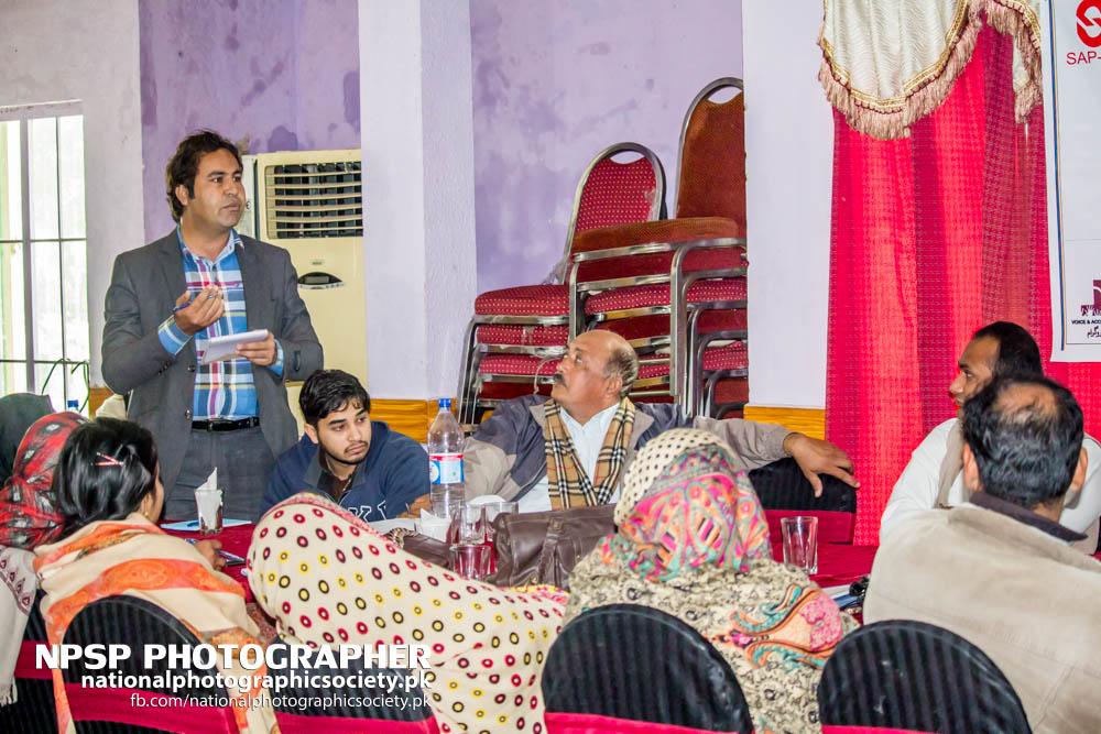 Early Warning System Workshop By Awaz In Toba Tek Singh-35