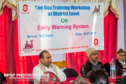 Early Warning System Workshop By Awaz In Toba Tek Singh-43