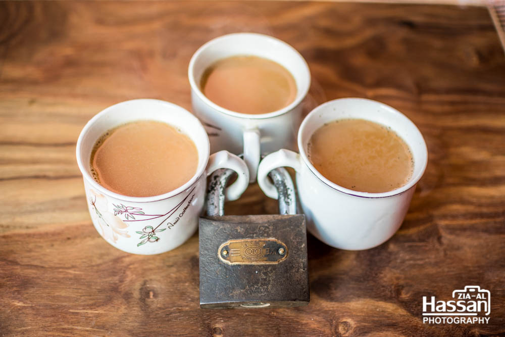 You Can Not Take Tea Without My Key