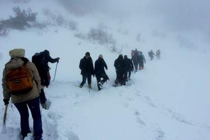 Snow Hike To Mushkpuri Peak